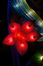 Lantern in flower shape Royalty Free Stock Images