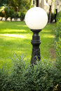 Lantern and grass Royalty Free Stock Photos