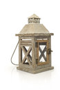 Lantern isolated ramadan lamp concept on white Royalty Free Stock Image