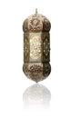 Lantern isolated ramadan lamp concept on white background Royalty Free Stock Photos