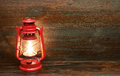 Lantern kerosene oil lamp Royalty Free Stock Photo
