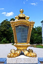 Lantern in nymphenburg castle Royalty Free Stock Photo