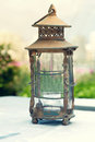 Lantern ramadan lamp concept vintage Royalty Free Stock Images