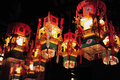 Lantern, Yu Lan Jie Royalty Free Stock Photo