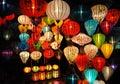 Lanterns At Market In Hoi An