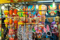 Lanterns in the mid autumn festival in vietnamese shop at district ho chi minh city saigon vietnam aumtumn Royalty Free Stock Photography