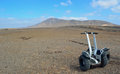 Lanzarote segway tour playa blanca Royalty Free Stock Photos