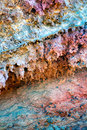 Lanzarote Timanfaya colorful lava stone Royalty Free Stock Photography