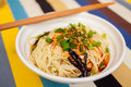 Lanzhou ramen a popular chinese pasta Royalty Free Stock Photos
