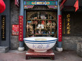 Lao she teahouse was named people s artist mr and theatre built in by two cents a bowl of tea is Stock Images