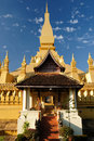 Lao, Vientiane - Pha That Luang Royalty Free Stock Photography