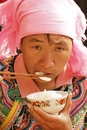 Woman of  ethnic Yi Royalty Free Stock Photo