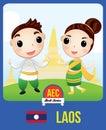Laos AEC doll