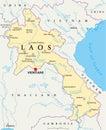 Laos Political Map