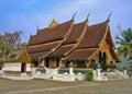 Photo : Laos wat from village ruin
