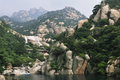 Laoshan mountain Stock Photo