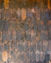 Lap over pattern of wooden wall Royalty Free Stock Photo