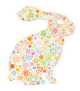 Lapin abstrait Photo stock