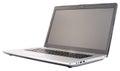 Laptop isolated on white Royalty Free Stock Photo