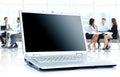 Laptop On Office