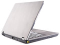 Laptop rear isometric view Royalty Free Stock Photography