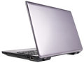 Laptop rear view Stock Photo