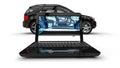 Laptop Wire Frame SUV