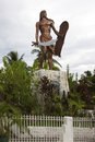 Lapu lapu shrine cebu mactan island philippines Royalty Free Stock Photo