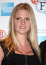 Lara stone attending a photocall before introducing the film the spy who loved me at bfi southbank london picture by alexandra Royalty Free Stock Photography