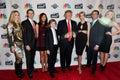 Lara Yunaska, Eric Trump, Melania Trump, Barron Trump, Donald Trump, Ivanka Trump, Donald Trump Jr., Tiffany Trump Royalty Free Stock Photo