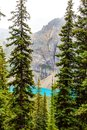 Larch Valley Hike From Moraine Lake in Lake Louise Royalty Free Stock Photo
