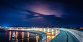 Laredo's harbour. Puerto de Laredo, Cantabria Royalty Free Stock Photo