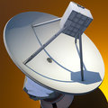 Large Array satellite Royalty Free Stock Photo