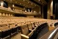 Large auditorium Royalty Free Stock Photo