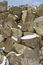 Large Boulders Royalty Free Stock Image