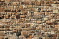 Large Brick Wall Stock Images