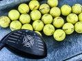 Practice Golf Balls Royalty Free Stock Photo