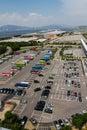 Large car park at Airport