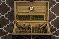 Large Cigar Humidor 2 Royalty Free Stock Photo
