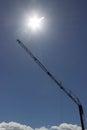 Large crane Royalty Free Stock Photo