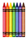 Large Crayons Royalty Free Stock Photo