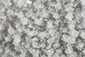 Large crystals of sodium chloride Royalty Free Stock Photo