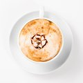 Large cup of coffee Royalty Free Stock Photo