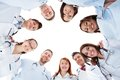 Large diverse multiethnic medical team