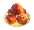 Large Firm Peaches Royalty Free Stock Photo