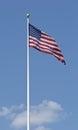 Large Flag USNA Royalty Free Stock Photography