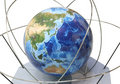 Large globe Stock Photo