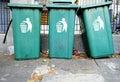 Large Green Wheelie Bins for General Waste