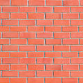 Large Grungy Red Brick Wall Background Royalty Free Stock Photo