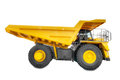 Large haul truck side Royalty Free Stock Photo